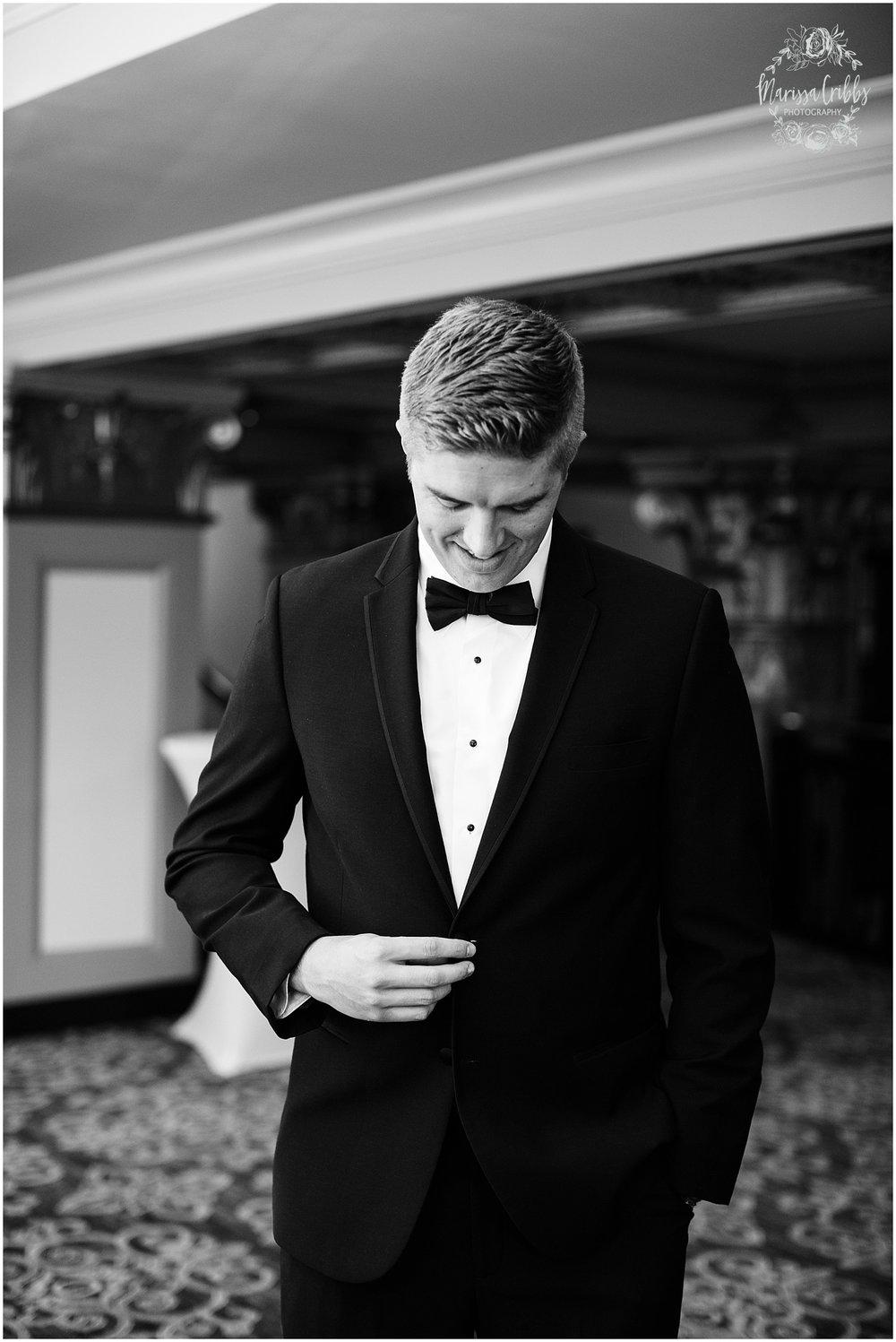 The President Hilton Wedding | KC Wedding Photographers | Emily & Dustin | Marissa Cribbs Photography_0663.jpg