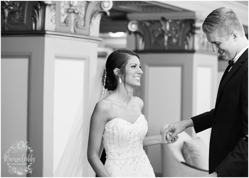 The President Hilton Wedding | KC Wedding Photographers | Emily & Dustin | Marissa Cribbs Photography_0667.jpg