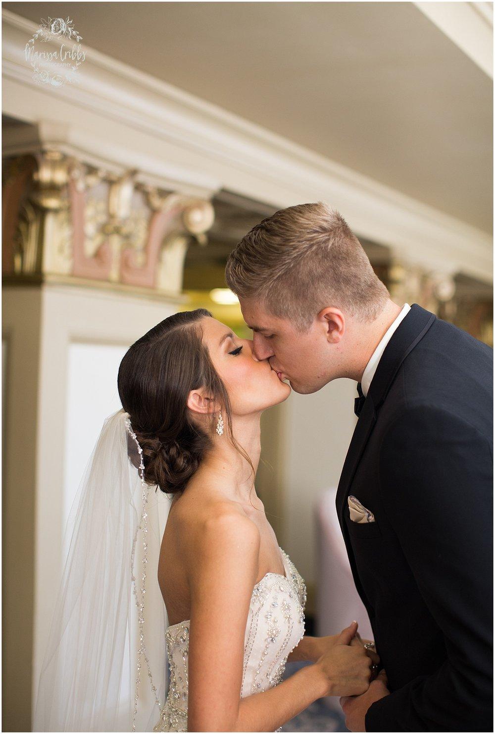 The President Hilton Wedding | KC Wedding Photographers | Emily & Dustin | Marissa Cribbs Photography_0669.jpg