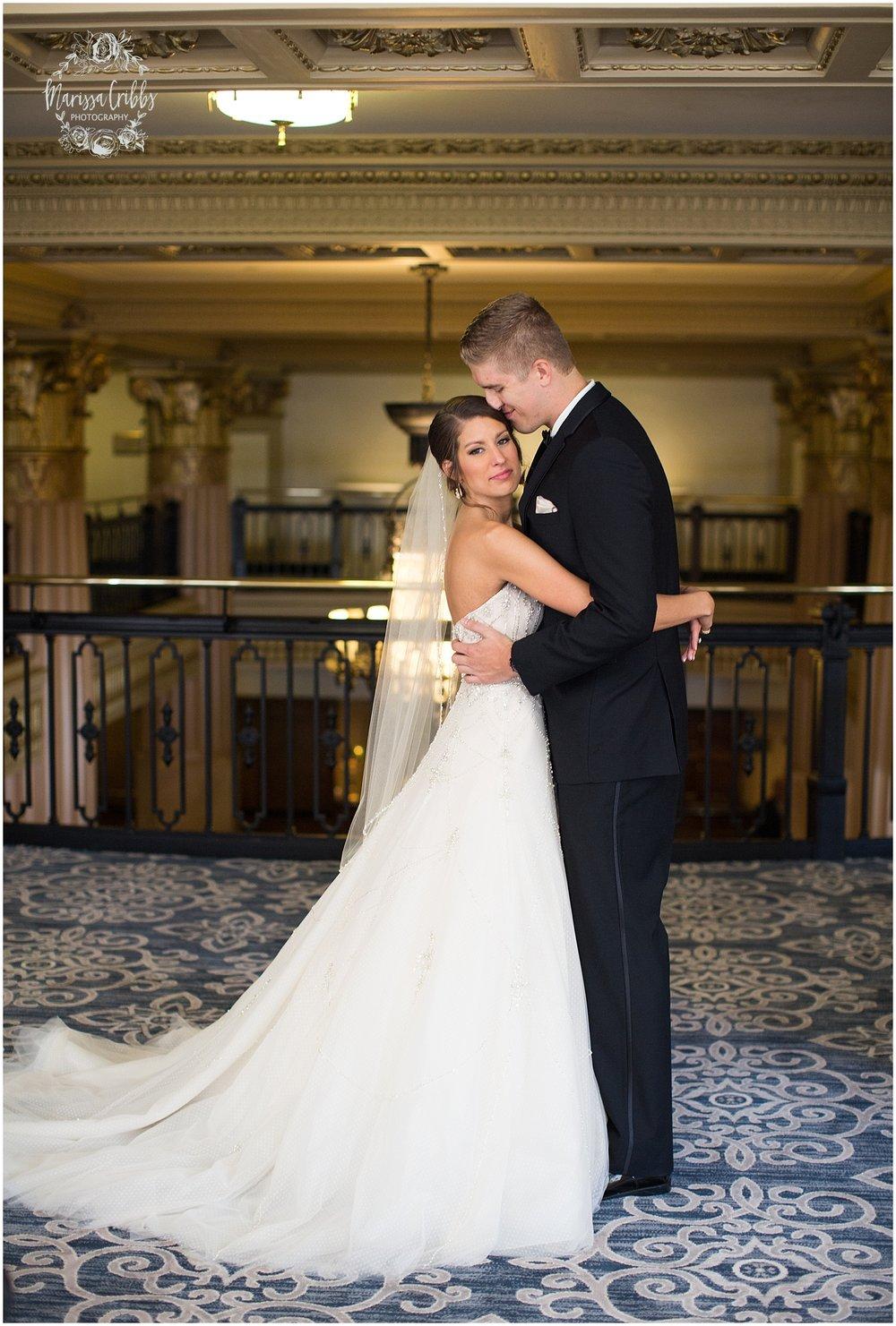 The President Hilton Wedding | KC Wedding Photographers | Emily & Dustin | Marissa Cribbs Photography_0670.jpg