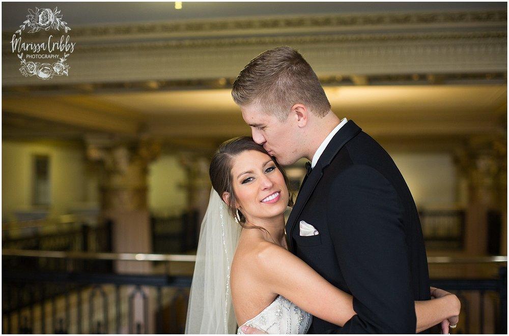 The President Hilton Wedding | KC Wedding Photographers | Emily & Dustin | Marissa Cribbs Photography_0671.jpg