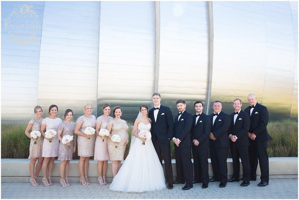 The President Hilton Wedding | KC Wedding Photographers | Emily & Dustin | Marissa Cribbs Photography_0675.jpg