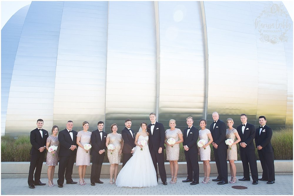 The President Hilton Wedding | KC Wedding Photographers | Emily & Dustin | Marissa Cribbs Photography_0677.jpg