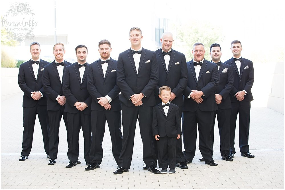 The President Hilton Wedding | KC Wedding Photographers | Emily & Dustin | Marissa Cribbs Photography_0687.jpg