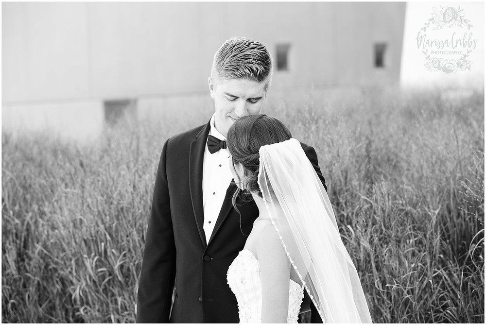 The President Hilton Wedding | KC Wedding Photographers | Emily & Dustin | Marissa Cribbs Photography_0691.jpg