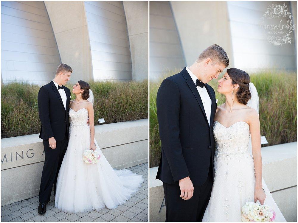 The President Hilton Wedding | KC Wedding Photographers | Emily & Dustin | Marissa Cribbs Photography_0692.jpg