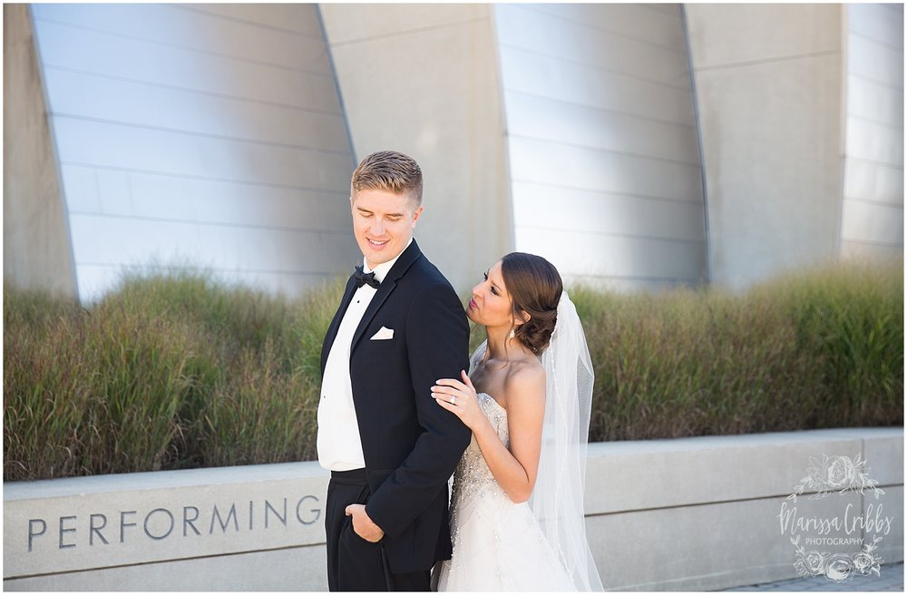 The President Hilton Wedding | KC Wedding Photographers | Emily & Dustin | Marissa Cribbs Photography_0695.jpg