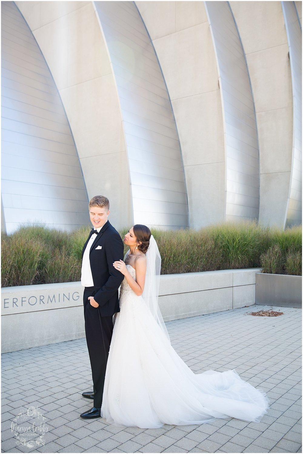 The President Hilton Wedding | KC Wedding Photographers | Emily & Dustin | Marissa Cribbs Photography_0696.jpg