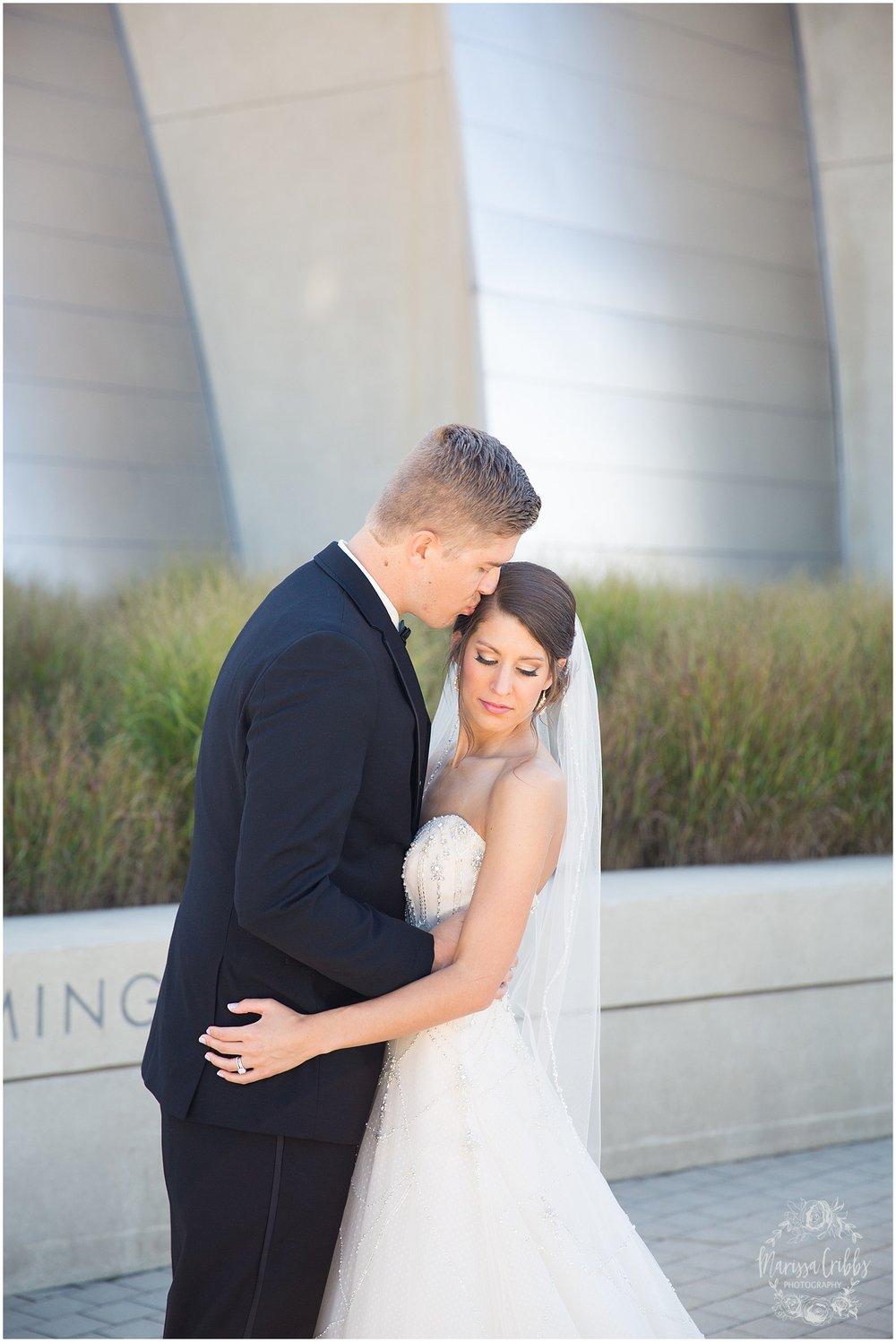 The President Hilton Wedding | KC Wedding Photographers | Emily & Dustin | Marissa Cribbs Photography_0698.jpg
