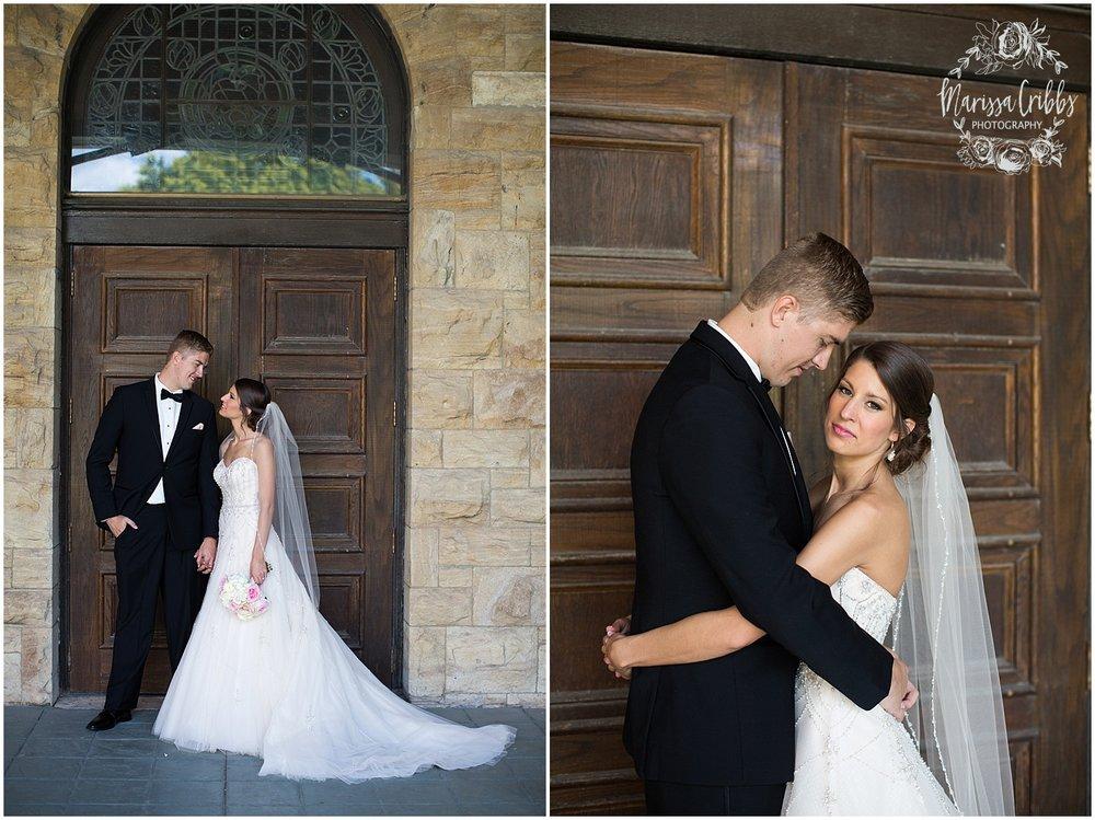 The President Hilton Wedding | KC Wedding Photographers | Emily & Dustin | Marissa Cribbs Photography_0699.jpg