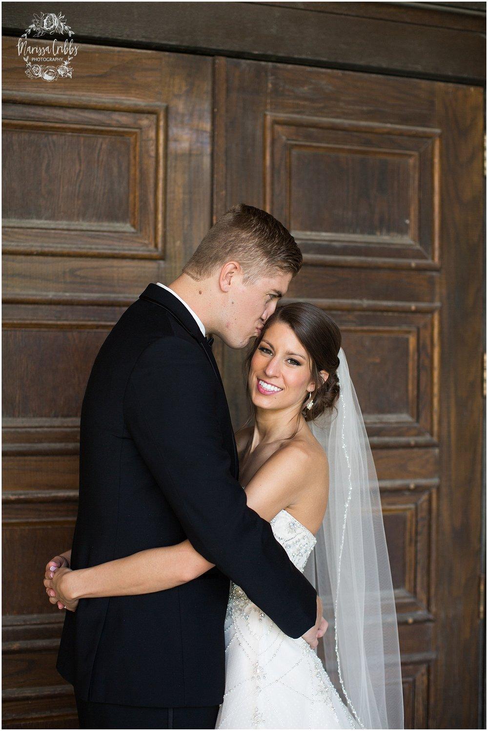 The President Hilton Wedding | KC Wedding Photographers | Emily & Dustin | Marissa Cribbs Photography_0700.jpg