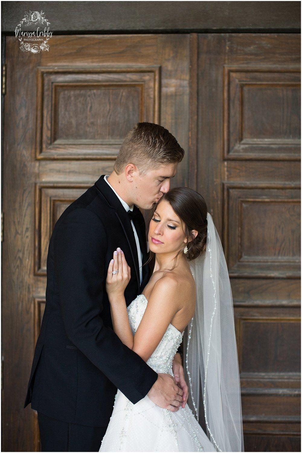 The President Hilton Wedding | KC Wedding Photographers | Emily & Dustin | Marissa Cribbs Photography_0701.jpg