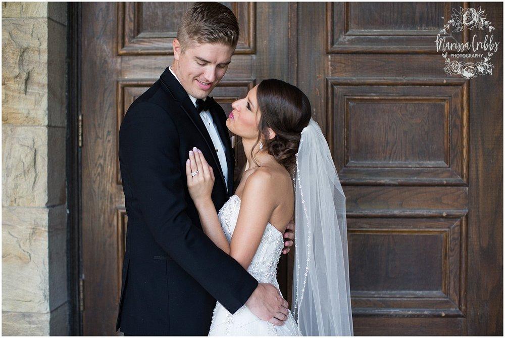 The President Hilton Wedding | KC Wedding Photographers | Emily & Dustin | Marissa Cribbs Photography_0703.jpg