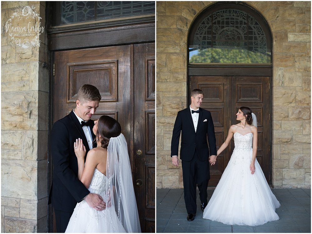 The President Hilton Wedding | KC Wedding Photographers | Emily & Dustin | Marissa Cribbs Photography_0704.jpg