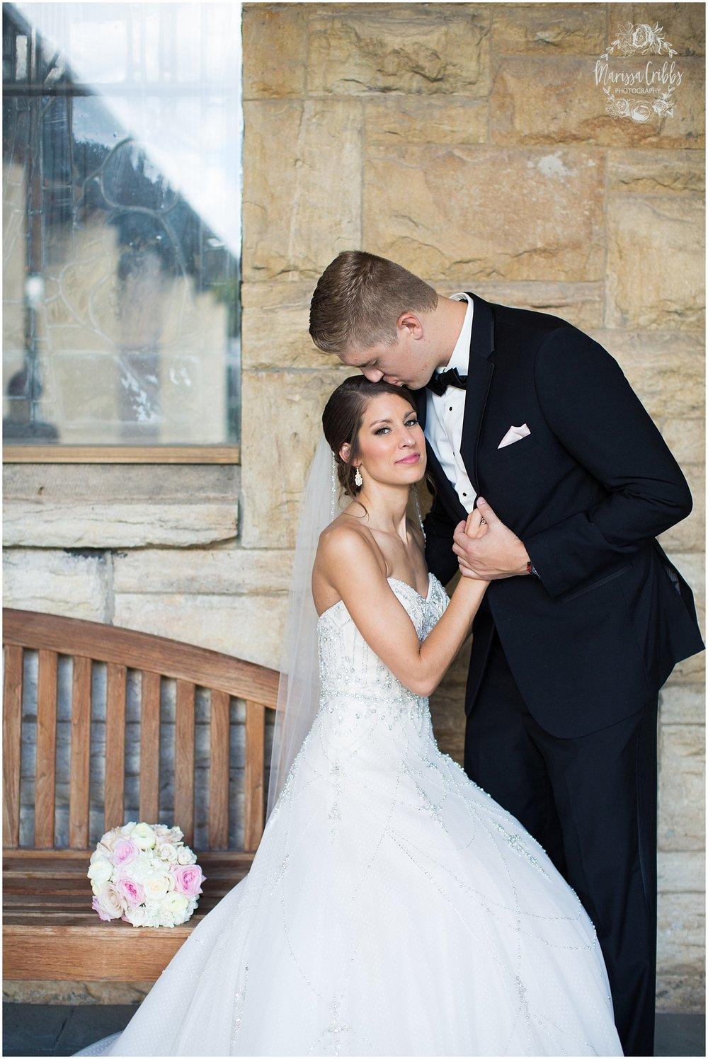 The President Hilton Wedding | KC Wedding Photographers | Emily & Dustin | Marissa Cribbs Photography_0710.jpg