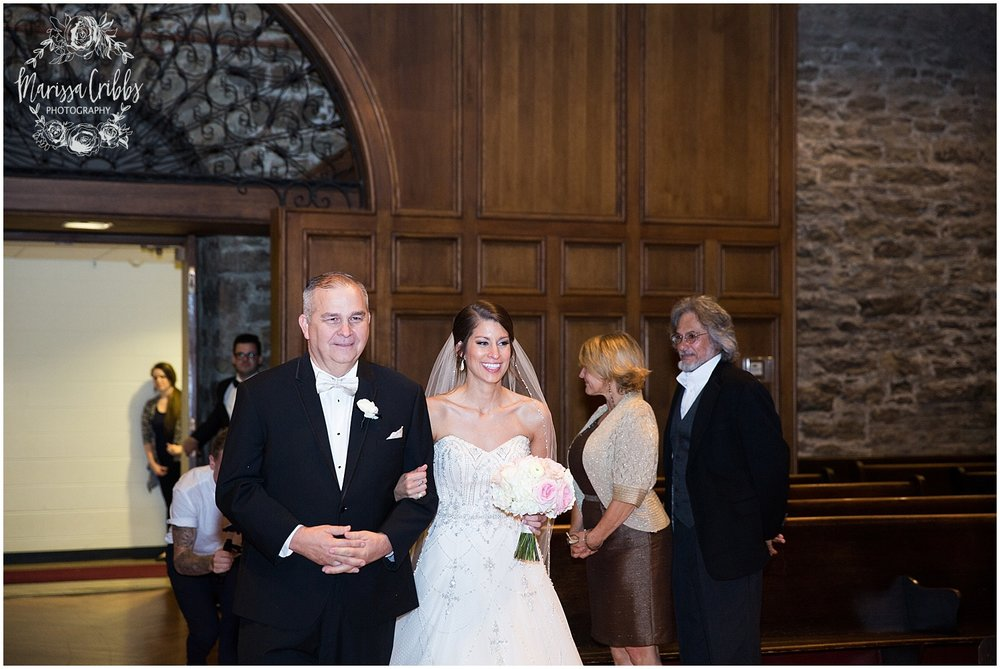 The President Hilton Wedding | KC Wedding Photographers | Emily & Dustin | Marissa Cribbs Photography_0714.jpg