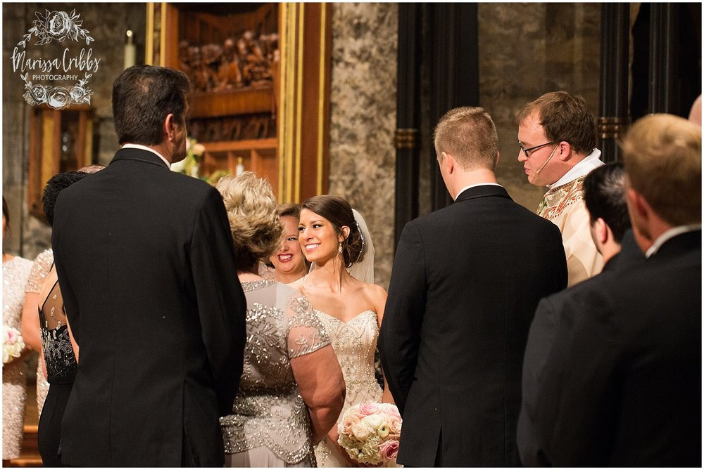 The President Hilton Wedding | KC Wedding Photographers | Emily & Dustin | Marissa Cribbs Photography_0716.jpg