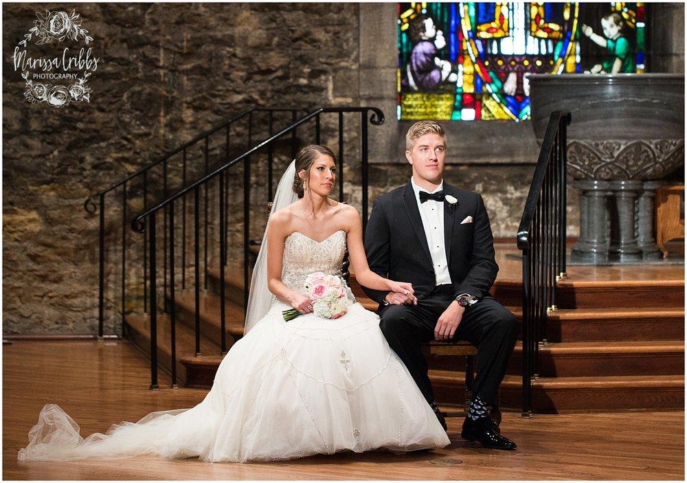 The President Hilton Wedding | KC Wedding Photographers | Emily & Dustin | Marissa Cribbs Photography_0717.jpg