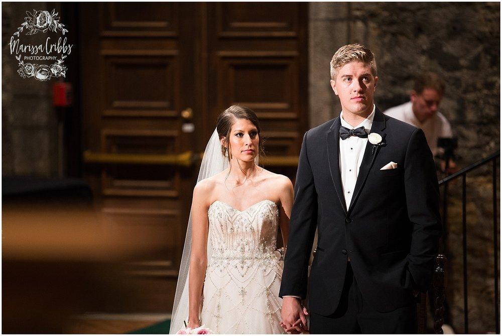 The President Hilton Wedding | KC Wedding Photographers | Emily & Dustin | Marissa Cribbs Photography_0719.jpg