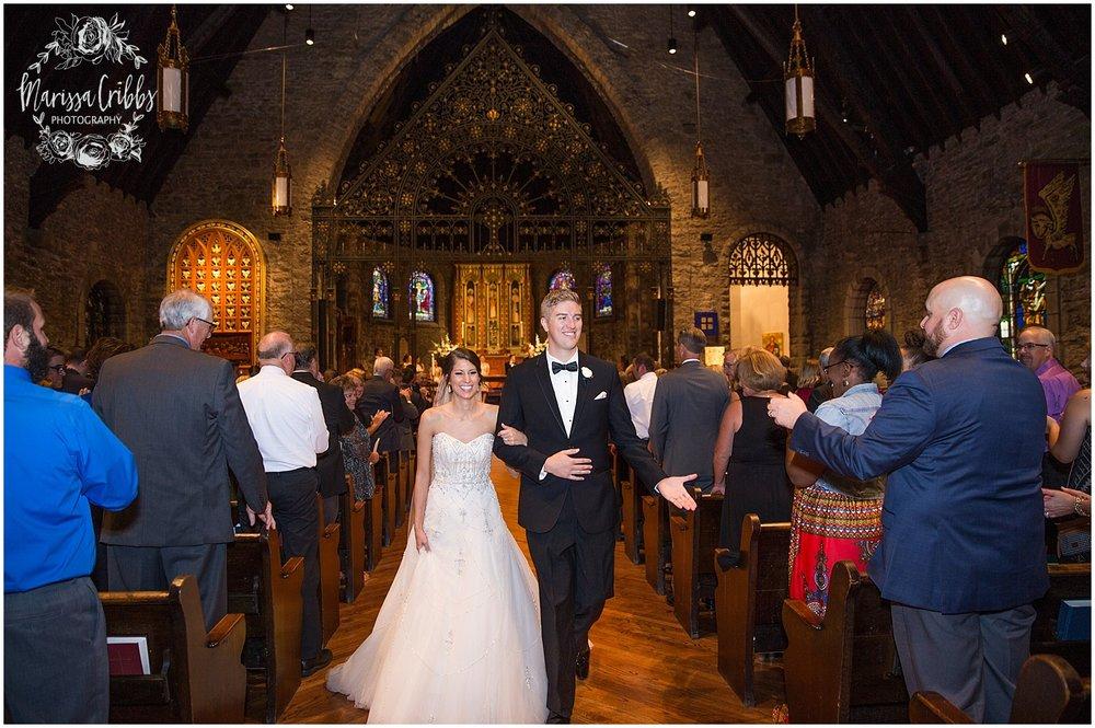 The President Hilton Wedding | KC Wedding Photographers | Emily & Dustin | Marissa Cribbs Photography_0728.jpg