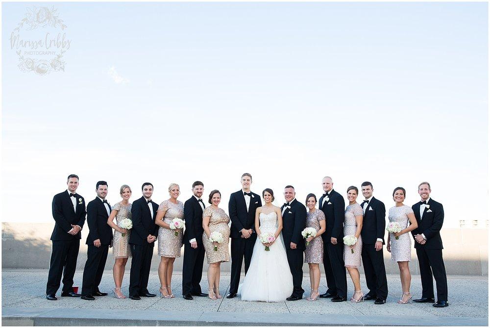 The President Hilton Wedding | KC Wedding Photographers | Emily & Dustin | Marissa Cribbs Photography_0734.jpg