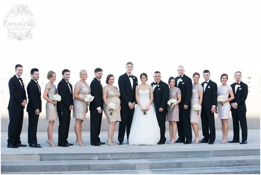 The President Hilton Wedding | KC Wedding Photographers | Emily & Dustin | Marissa Cribbs Photography_0735.jpg
