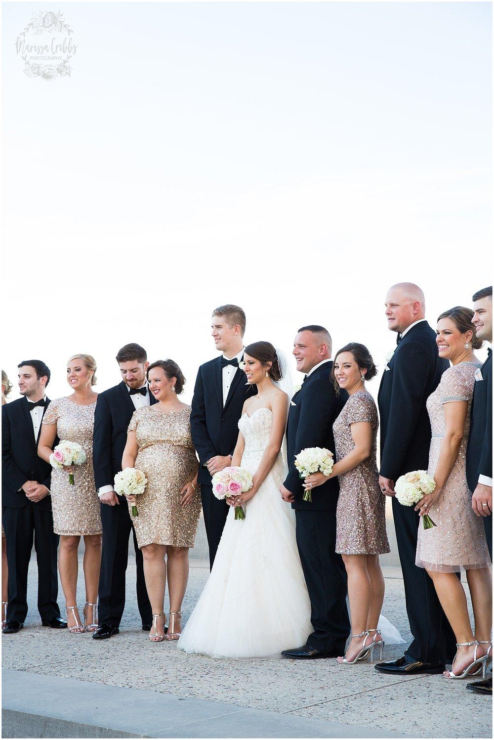 The President Hilton Wedding | KC Wedding Photographers | Emily & Dustin | Marissa Cribbs Photography_0736.jpg