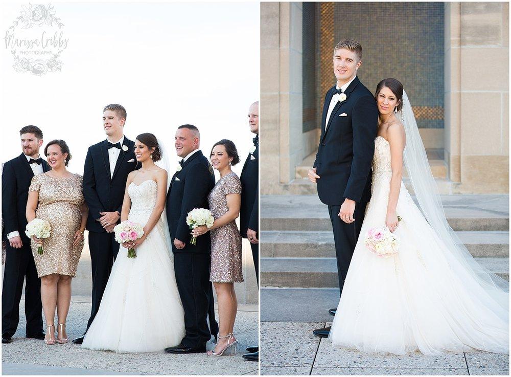 The President Hilton Wedding | KC Wedding Photographers | Emily & Dustin | Marissa Cribbs Photography_0738.jpg