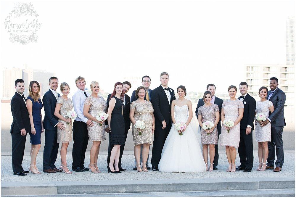 The President Hilton Wedding | KC Wedding Photographers | Emily & Dustin | Marissa Cribbs Photography_0740.jpg