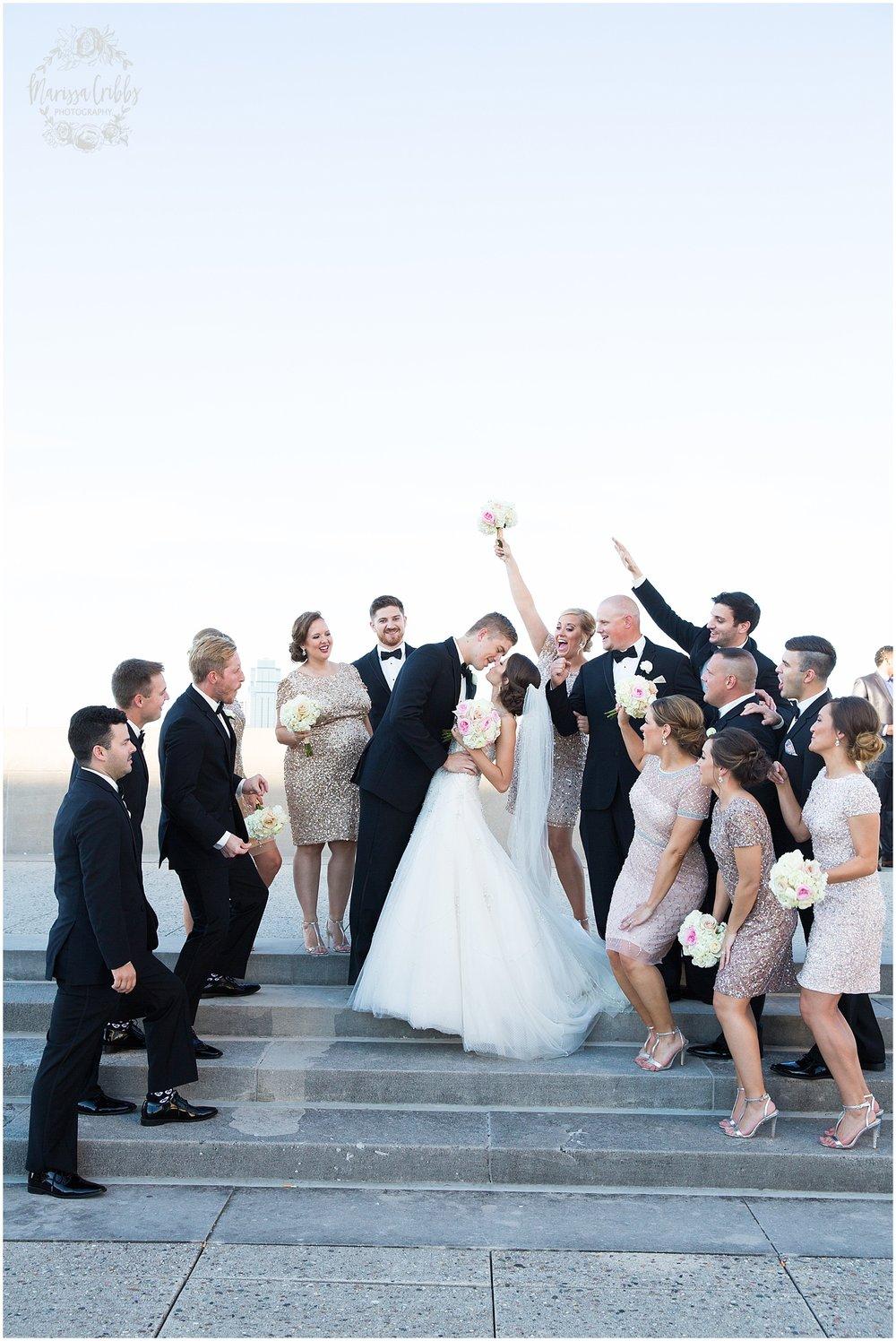 The President Hilton Wedding | KC Wedding Photographers | Emily & Dustin | Marissa Cribbs Photography_0739.jpg