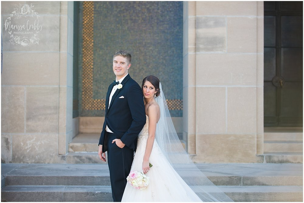 The President Hilton Wedding | KC Wedding Photographers | Emily & Dustin | Marissa Cribbs Photography_0742.jpg