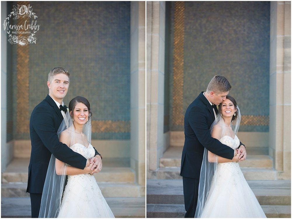 The President Hilton Wedding | KC Wedding Photographers | Emily & Dustin | Marissa Cribbs Photography_0743.jpg