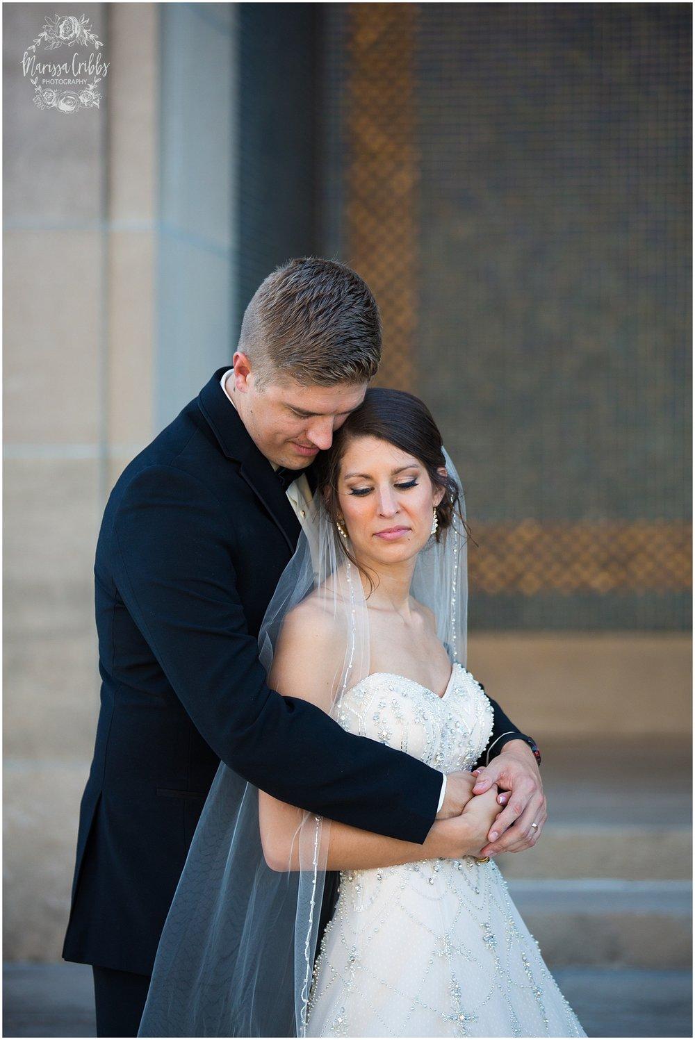 The President Hilton Wedding | KC Wedding Photographers | Emily & Dustin | Marissa Cribbs Photography_0745.jpg