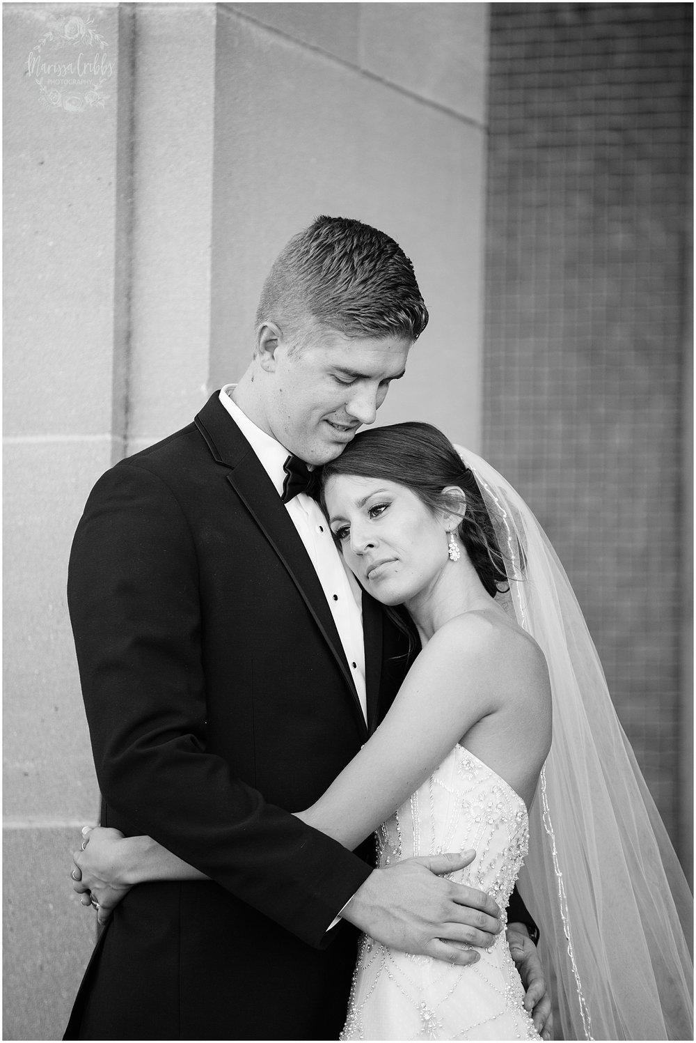 The President Hilton Wedding | KC Wedding Photographers | Emily & Dustin | Marissa Cribbs Photography_0748.jpg