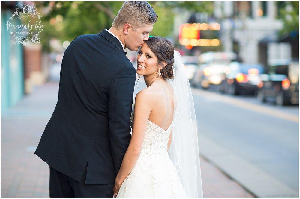 The President Hilton Wedding | KC Wedding Photographers | Emily & Dustin | Marissa Cribbs Photography_0758.jpg