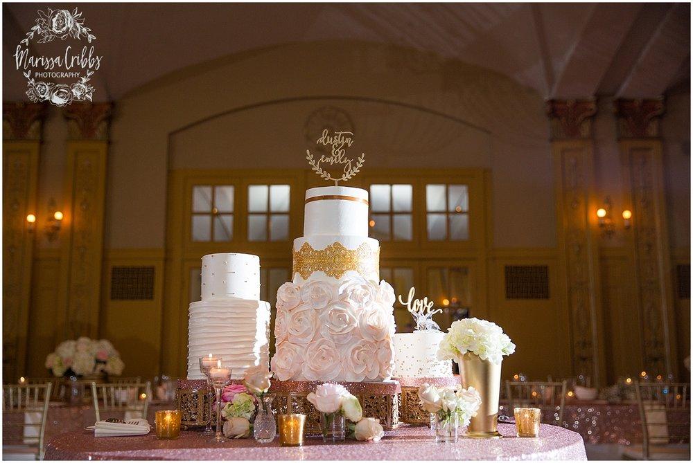 The President Hilton Wedding | KC Wedding Photographers | Emily & Dustin | Marissa Cribbs Photography_0764.jpg