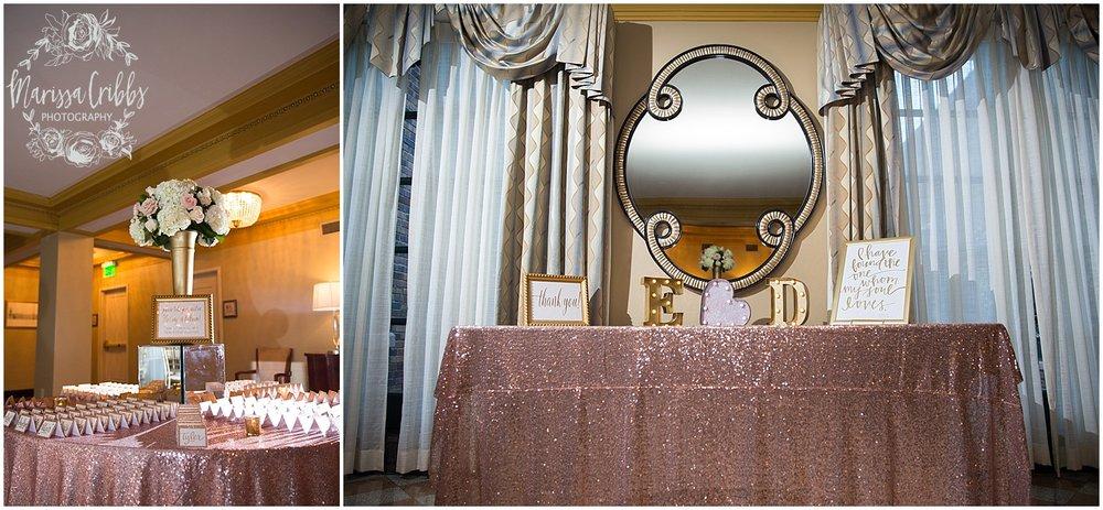 The President Hilton Wedding | KC Wedding Photographers | Emily & Dustin | Marissa Cribbs Photography_0767.jpg