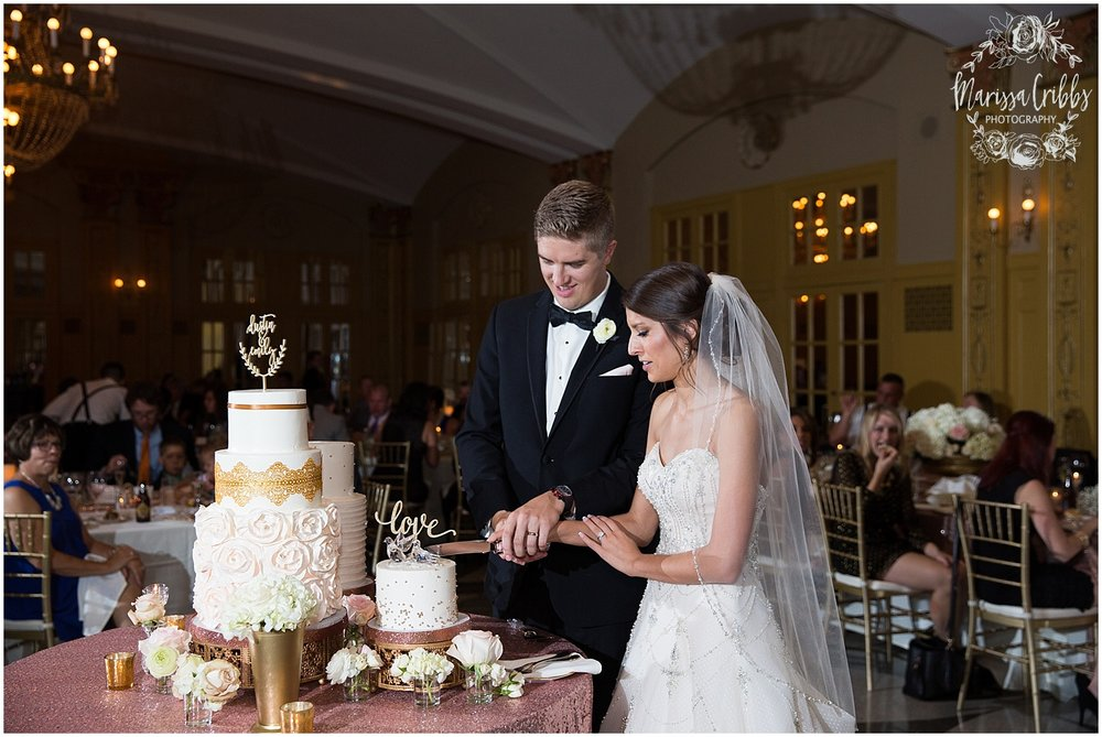 The President Hilton Wedding | KC Wedding Photographers | Emily & Dustin | Marissa Cribbs Photography_0772.jpg