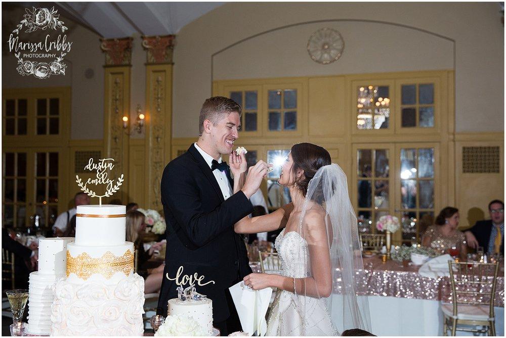 The President Hilton Wedding | KC Wedding Photographers | Emily & Dustin | Marissa Cribbs Photography_0773.jpg