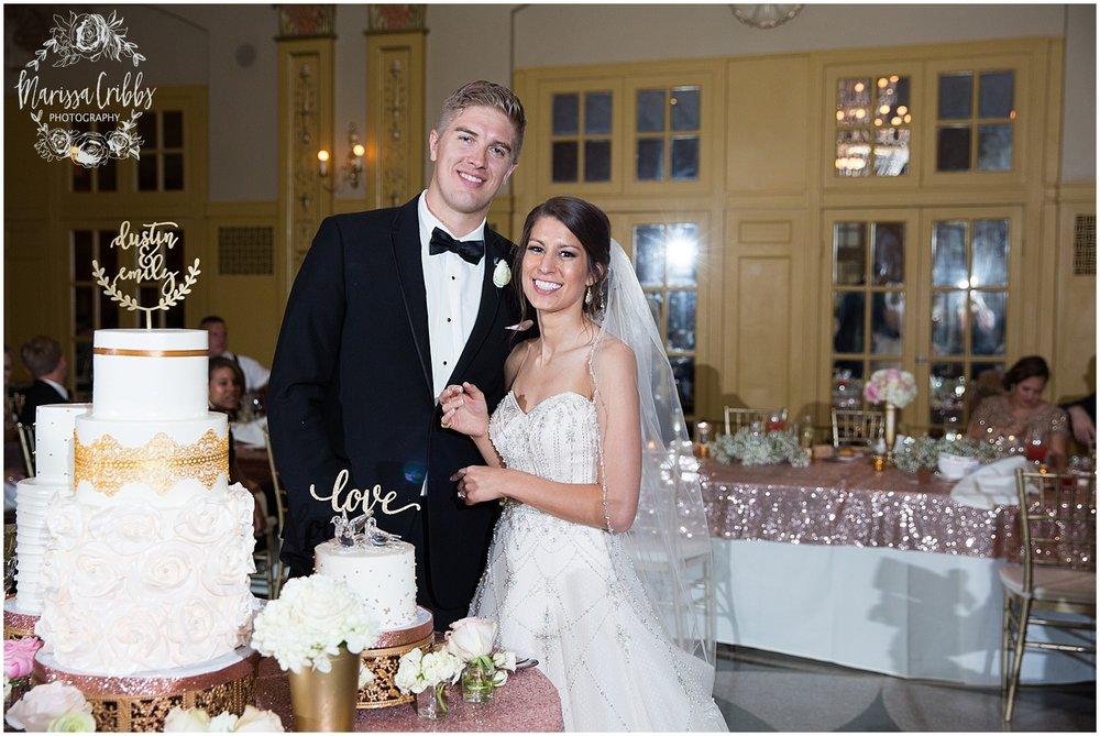 The President Hilton Wedding | KC Wedding Photographers | Emily & Dustin | Marissa Cribbs Photography_0774.jpg