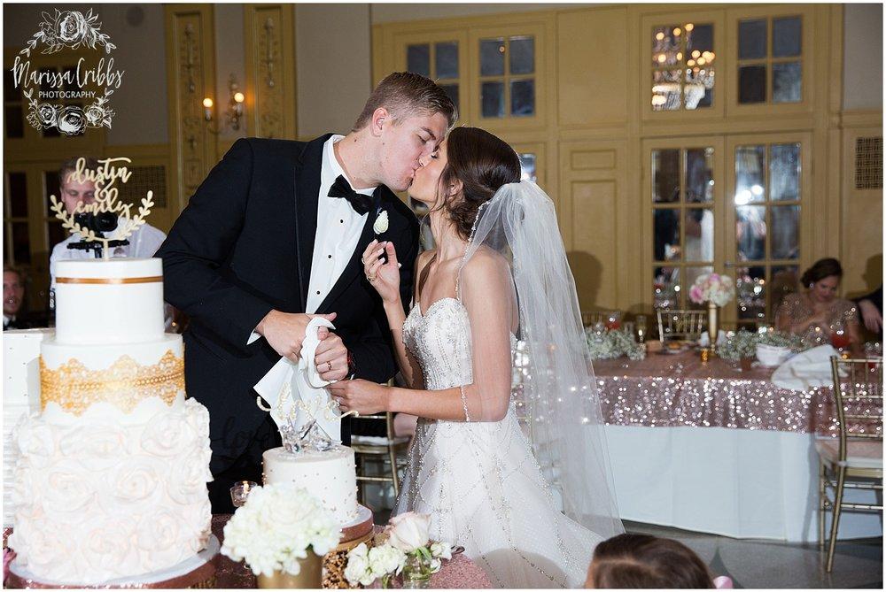 The President Hilton Wedding | KC Wedding Photographers | Emily & Dustin | Marissa Cribbs Photography_0775.jpg