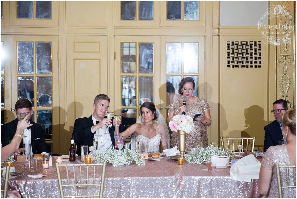 The President Hilton Wedding | KC Wedding Photographers | Emily & Dustin | Marissa Cribbs Photography_0776.jpg