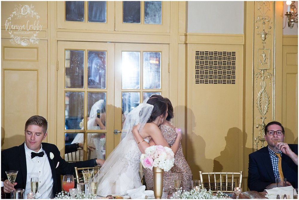 The President Hilton Wedding | KC Wedding Photographers | Emily & Dustin | Marissa Cribbs Photography_0777.jpg