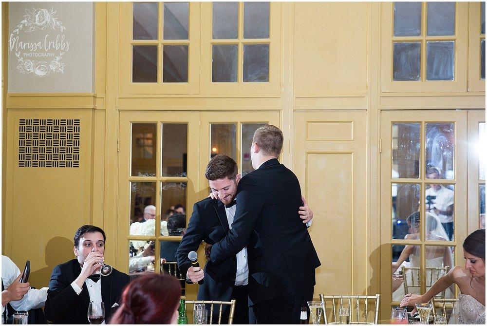 The President Hilton Wedding | KC Wedding Photographers | Emily & Dustin | Marissa Cribbs Photography_0779.jpg