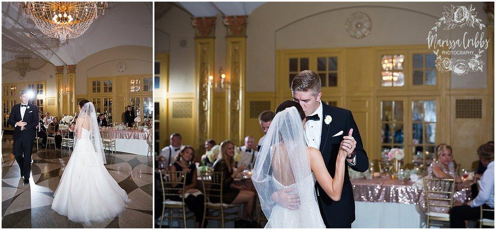 The President Hilton Wedding | KC Wedding Photographers | Emily & Dustin | Marissa Cribbs Photography_0780.jpg