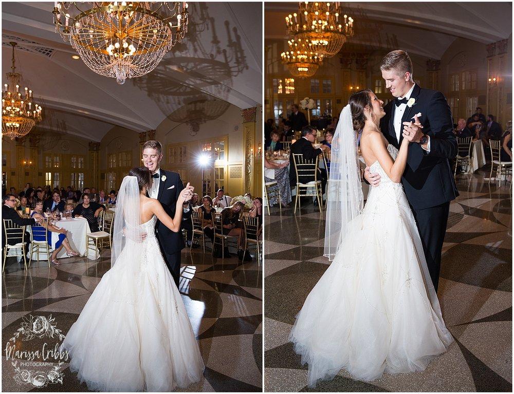 The President Hilton Wedding | KC Wedding Photographers | Emily & Dustin | Marissa Cribbs Photography_0782.jpg