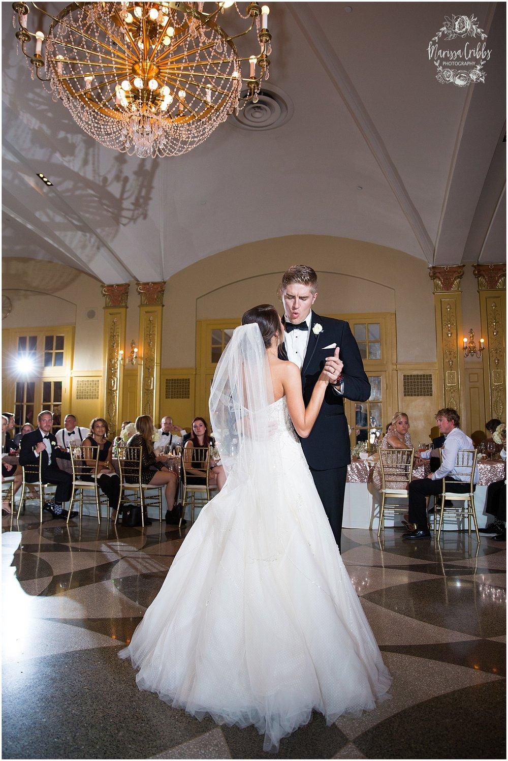 The President Hilton Wedding | KC Wedding Photographers | Emily & Dustin | Marissa Cribbs Photography_0781.jpg