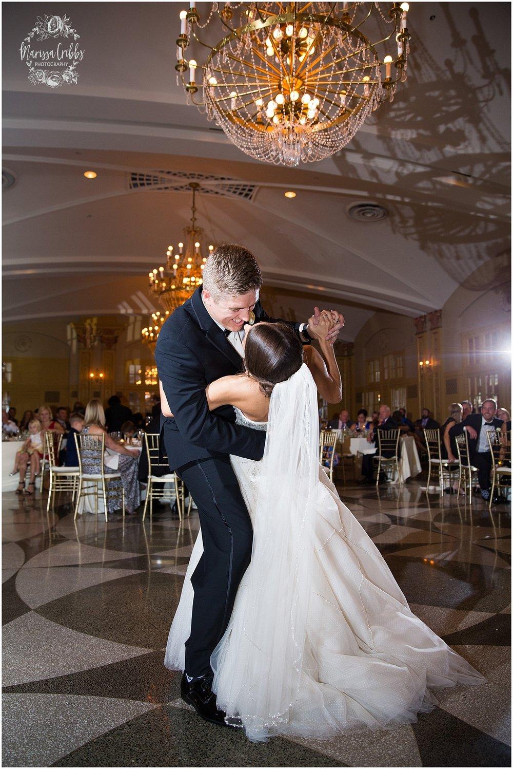 The President Hilton Wedding | KC Wedding Photographers | Emily & Dustin | Marissa Cribbs Photography_0783.jpg