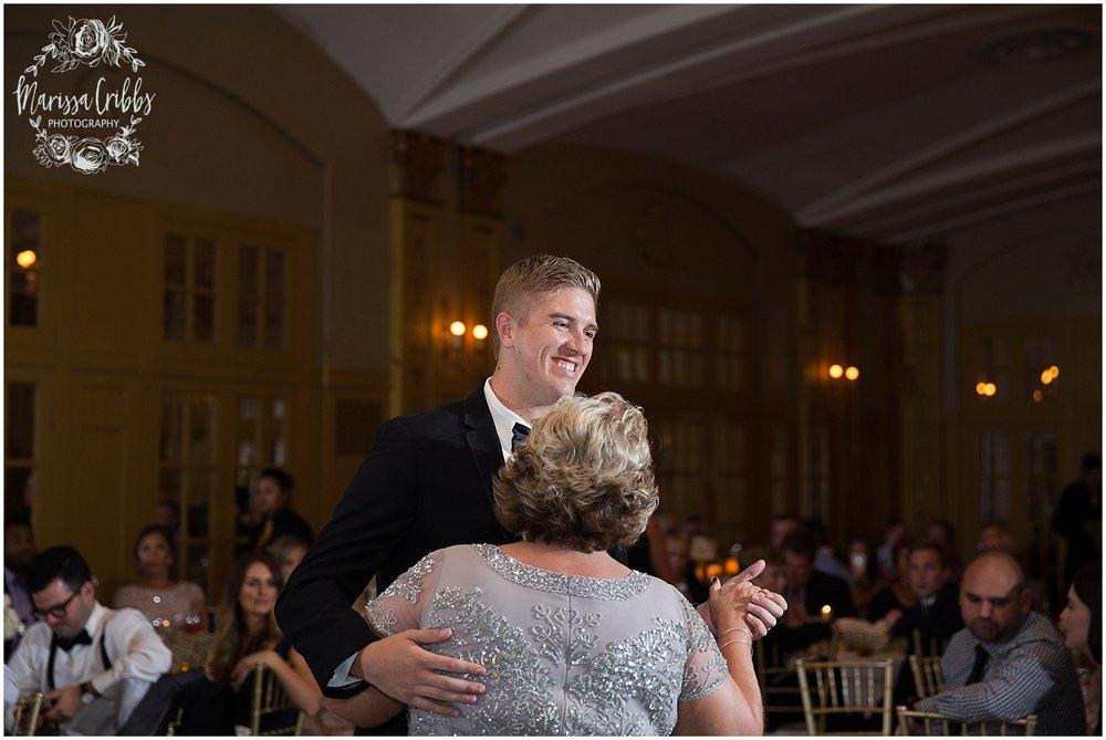 The President Hilton Wedding | KC Wedding Photographers | Emily & Dustin | Marissa Cribbs Photography_0786.jpg