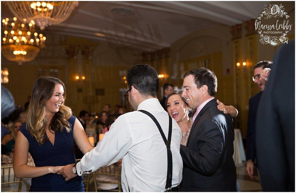 The President Hilton Wedding | KC Wedding Photographers | Emily & Dustin | Marissa Cribbs Photography_0788.jpg
